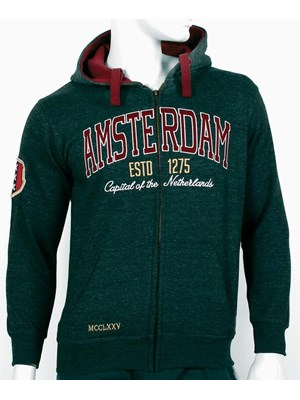 Amsterdam Hooded Jacket