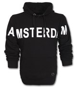 Amsterdam Hooded Sweater - Black