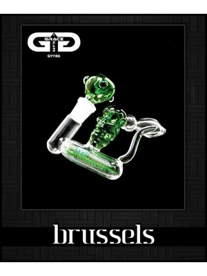 Grace Glass Brussels Bubbler